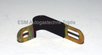 Befestigungsschelle für flexible Plasteleitung