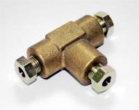 T-Stück 6mm für Gasleitung / Kupferleitung