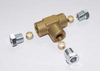 T-Stück 8mm für Gasleitung / Kupferleitung