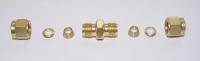 Verbinder 6 mm Messing Brass