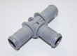 T-Piece Water for reducer plastic material 16x16x16